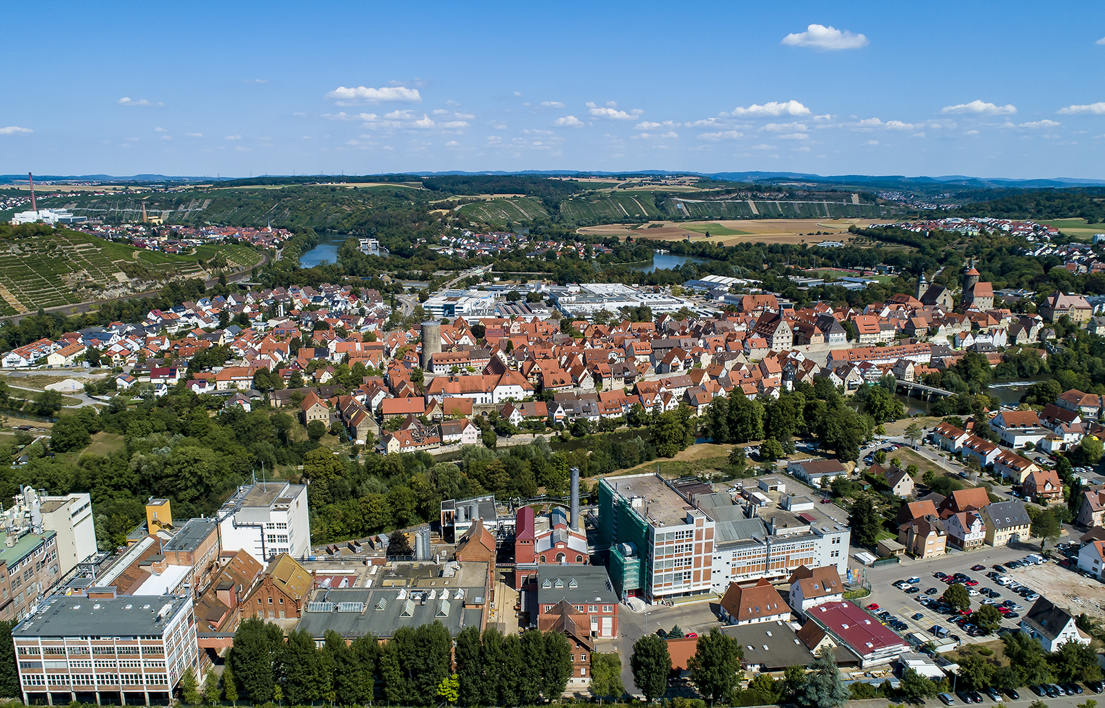 Besigheim an Neckar und Enz