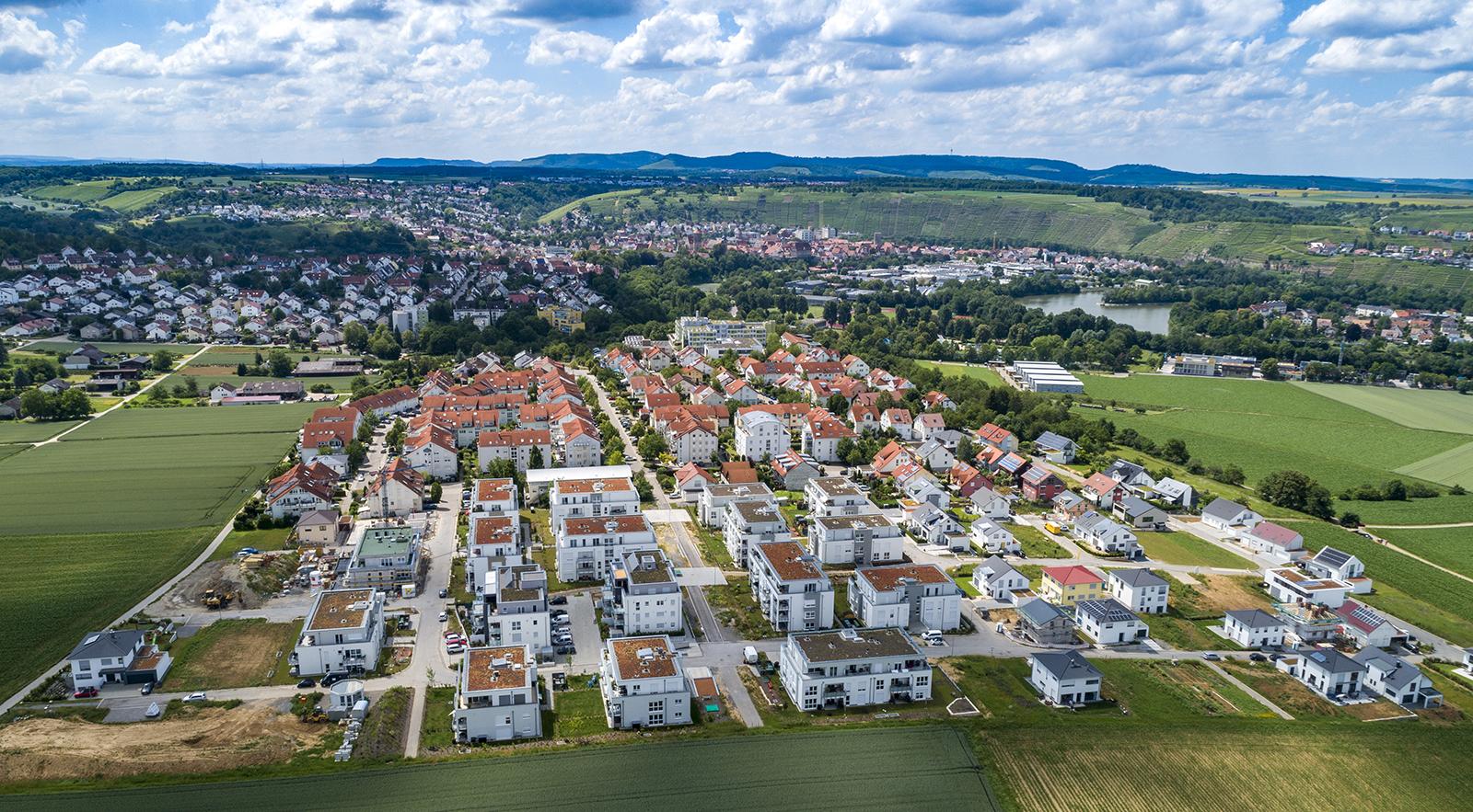 Besigheim, Wohngebiet Bülzen