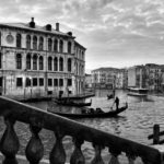 Canal Grande an der Rialtobrücke, Blick auf den Palazzo dei Camerlenghi.