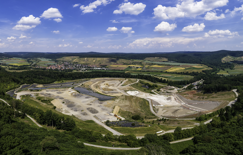 Mülldeponie Burghof, Horrheim