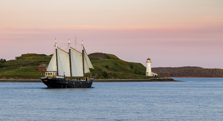 Georges Island, Halifax. Nova Scotia.