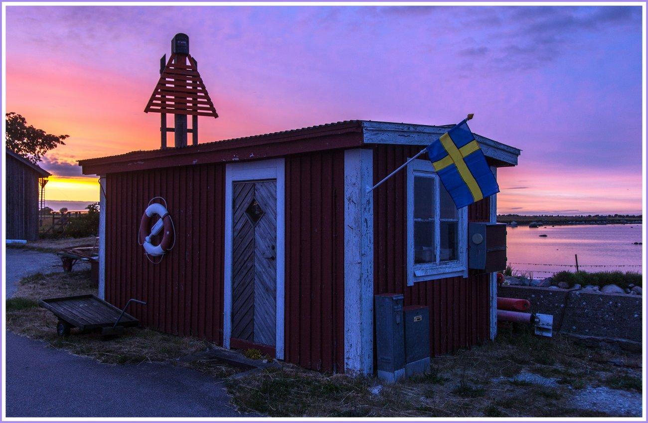 Schweden: Öland, Gräsgårds Hamn
