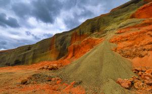 Island: Seyðishólar Kratergruppe