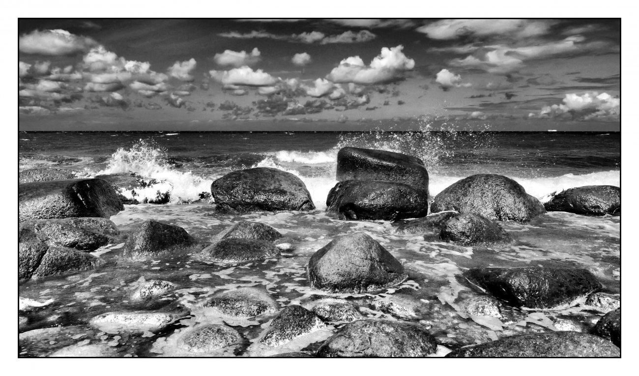 Deutschland - Rügen, Ostseeküste bei Kap Arkona. (Lumix LX 2)