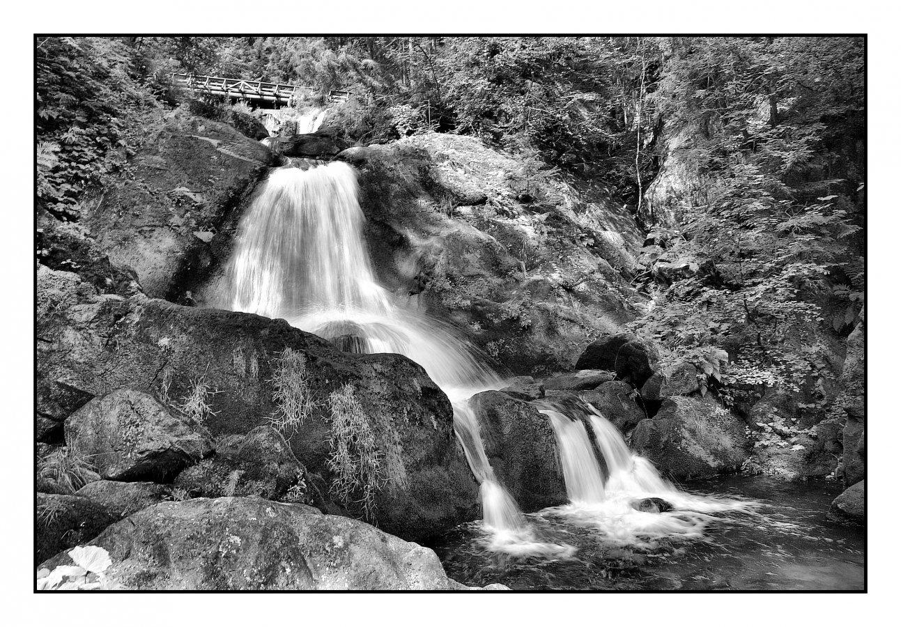 Deutschland - Schwarzwald, Triberger Wasserfälle.