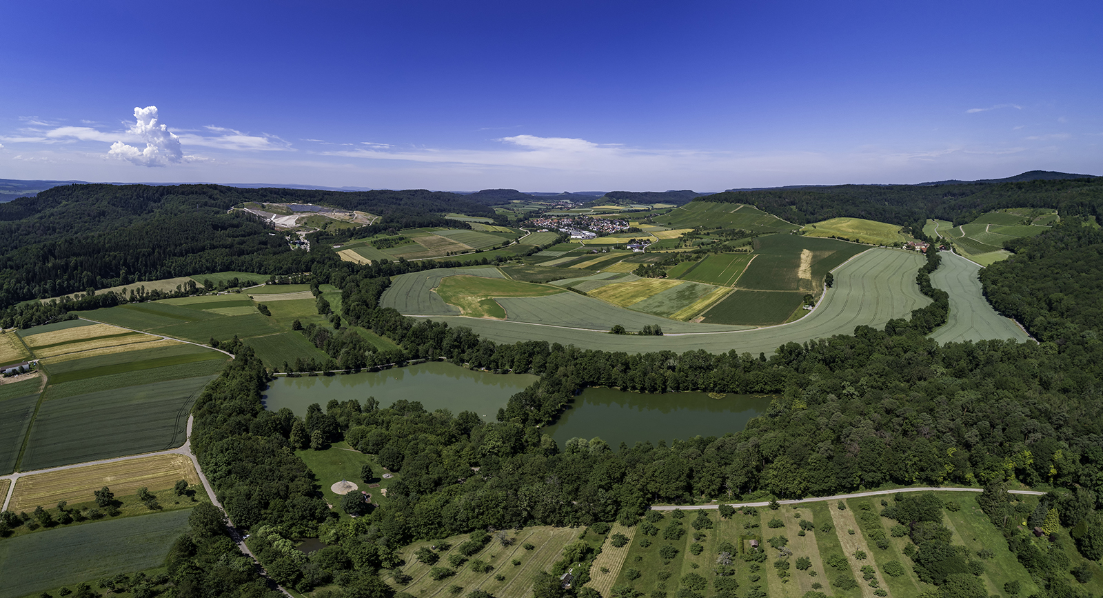 Seewaldseen in Vaihingen/Enz, Horrheim
