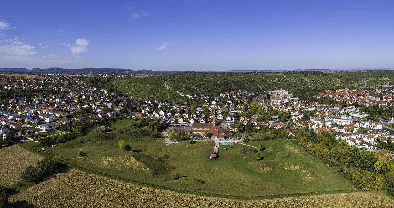 Lehmgrube auf dem Ziegelei-Areal in Besigheim
