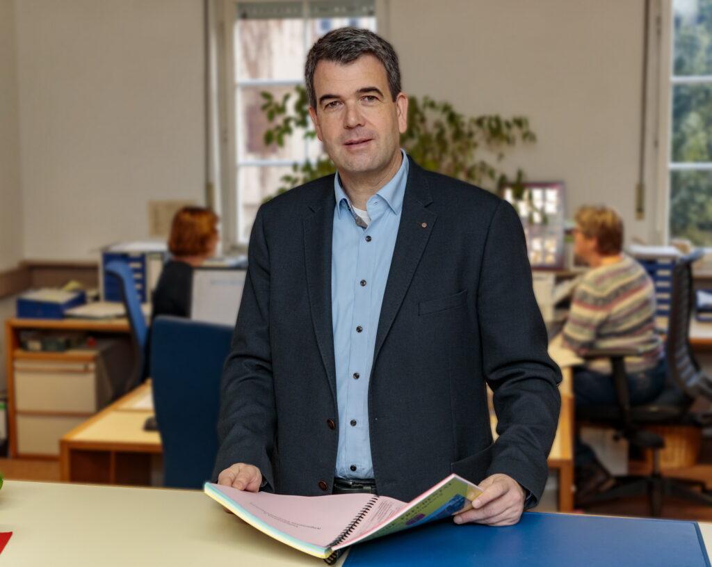 Freudental: Bürgermeister Alexander Fleig