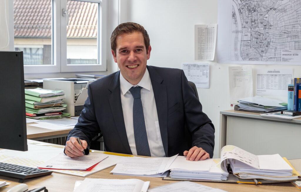 Mundelsheim: Bürgermeister Boris Seitz