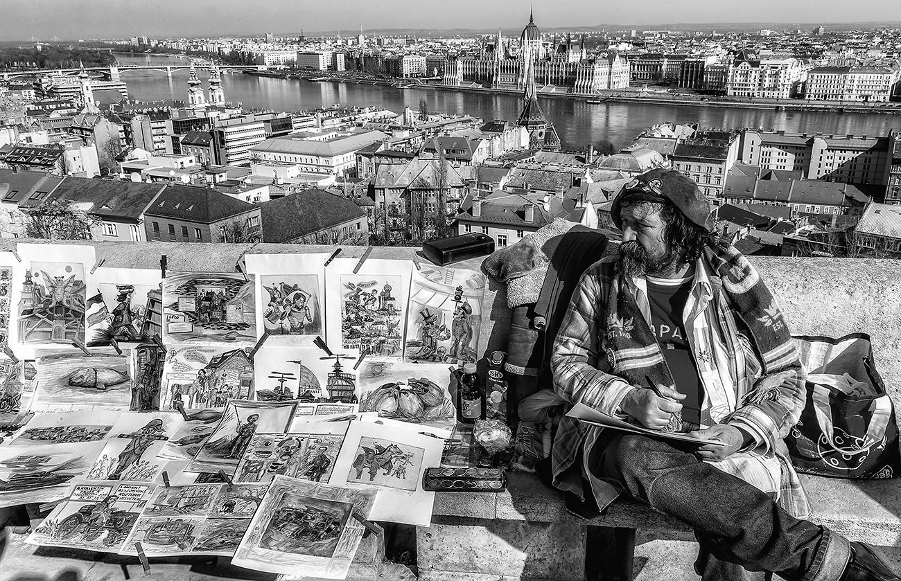 Montmartre sur Danube - Art á Budapest - Művészet Budapesten - Montmartre a Dunán