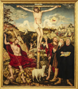 Lucas Cranach Altar der Stadtkirche St. Peter und Paul zu Weimar