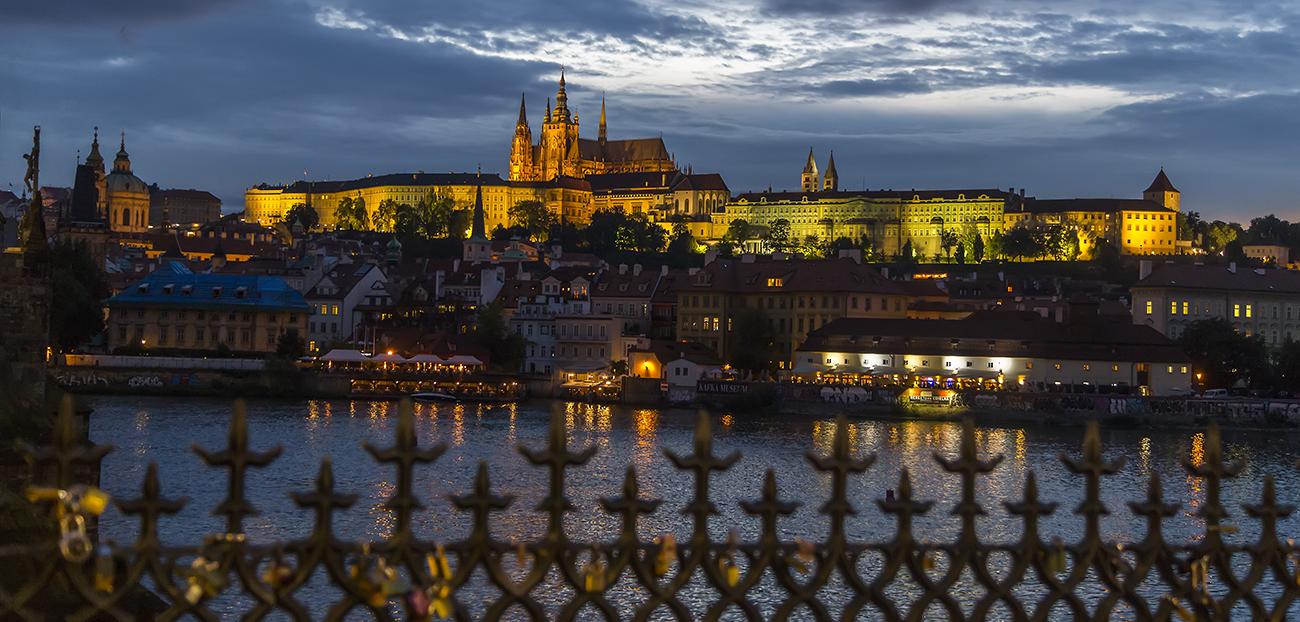 Prag, Moldau und Prager Burg