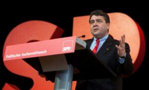 Politischer Aschermittwoch der SPD im Forum am Schlosspark in Ludwigsburg.