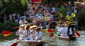 Besigheim: Winzerfest, Fischerstechen
