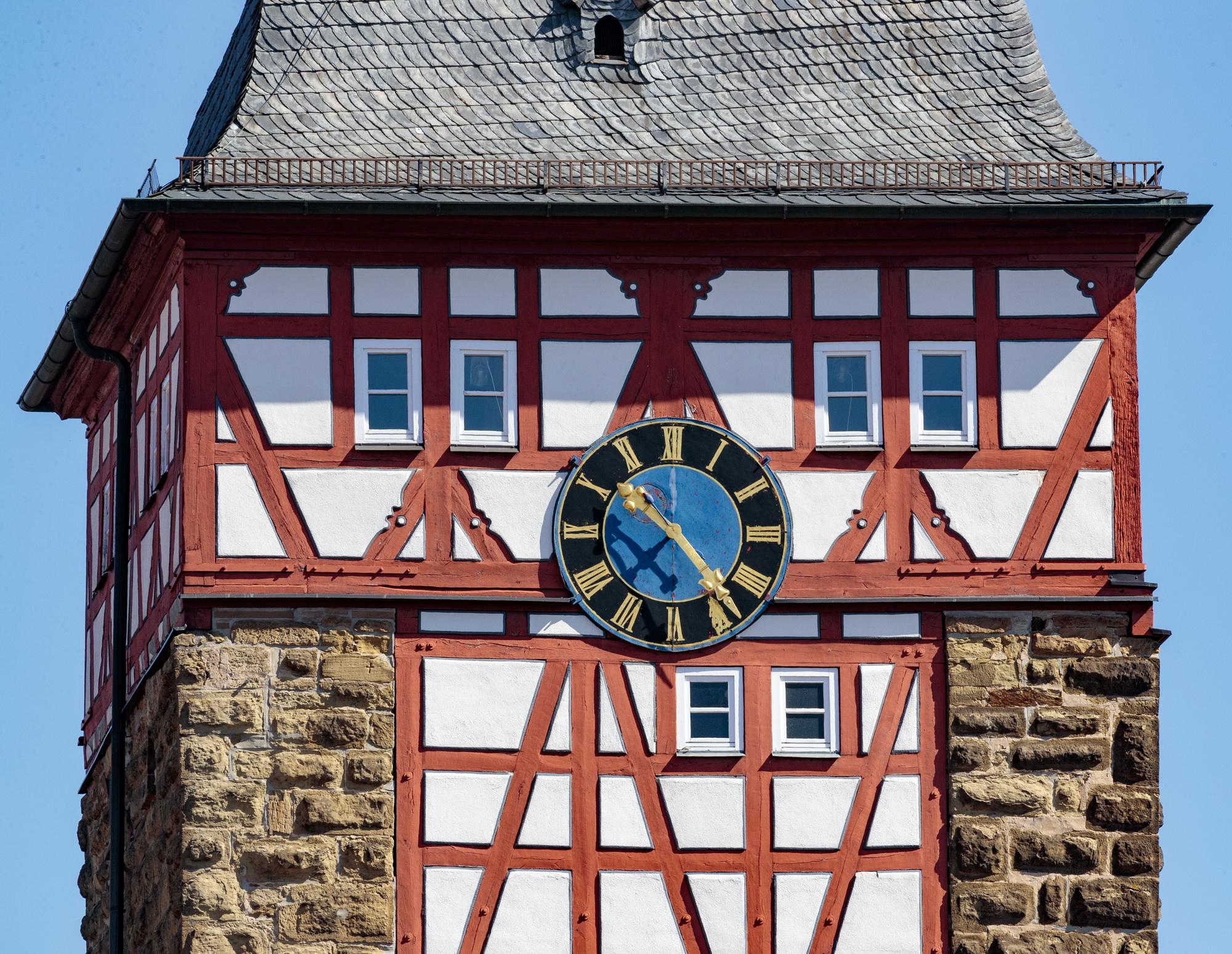 Bönnigheim: Fachwerk Köllesturm