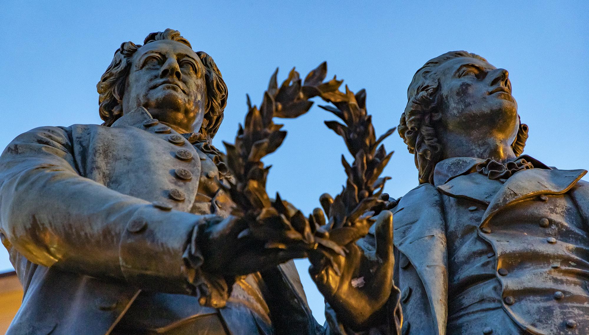 Weimar: Goethe-Schiller-Denkmal