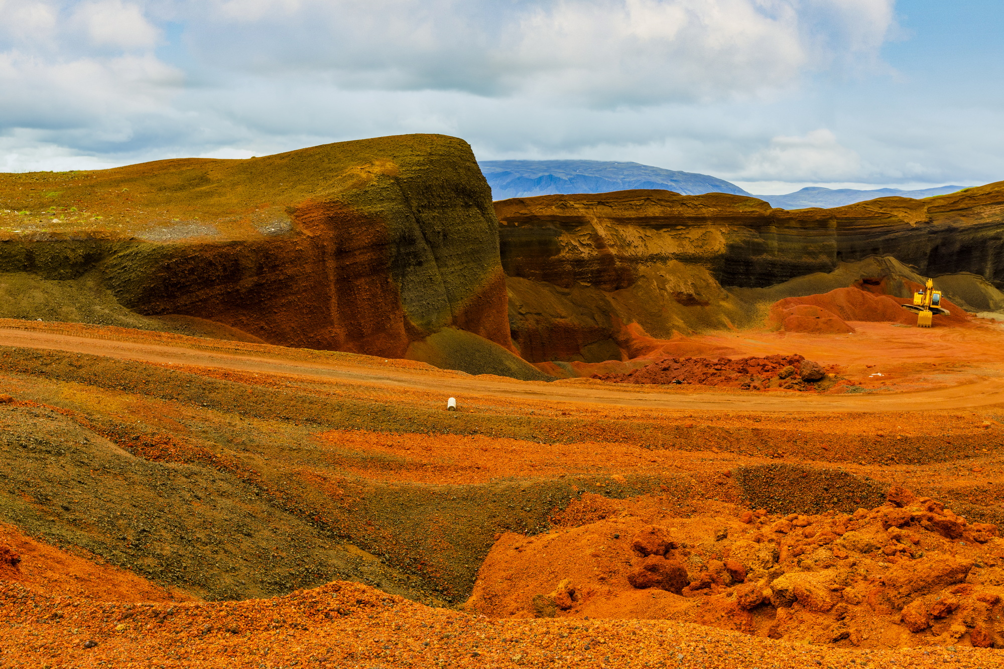 Island, Seyðishólar Kratergruppe